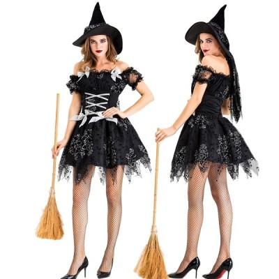 ハロウィン 悪魔 魔女 コスチューム 大人用 衣装 大人 コスプレ 仮装 ヴァンパイア 吸血鬼 コスプレ衣装 コス ウィッチ 女性 レディース 魔法使い デビル 女性用