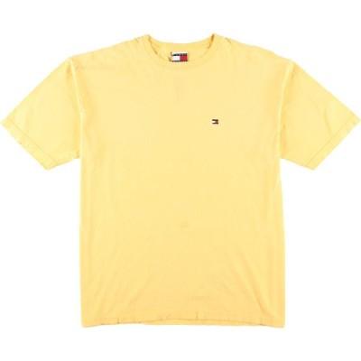 トミーヒルフィガー ロゴTシャツ USA製 メンズXL /eaa069423