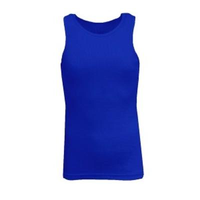 ギャラクシーバイハルビック メンズ Tシャツ トップス Men's Famous Heavyweight Ribbed Tank Top Royal Blue