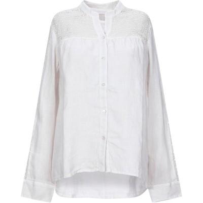 120% シャツ ライトグレー 38 リネン 100% / コットン シャツ