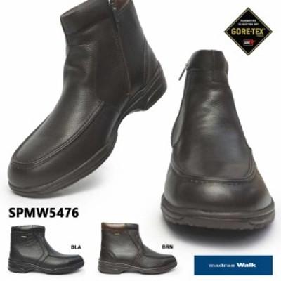 マドラスウォーク 防水 メンズ ブーツ SPMW5476 防滑 雪国 4E 幅広 ゴアテックス madras Walk GORE-TEX