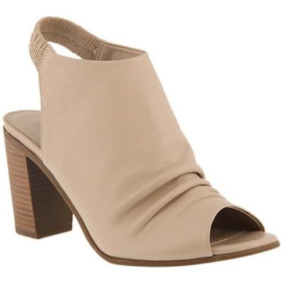 アズラ Azura レディース ブーツ シューズ・靴 Bojinka Slingback Bootie Beige Leather