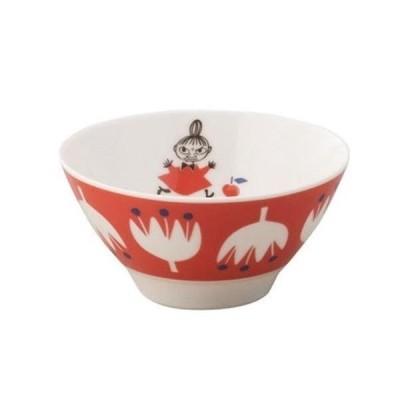 日本製 山加商店 YAMAKA  ムーミン MOOMIN ライスボール MM1002-312 リトルミイ 赤色 RD  クッカ kukka 花 フラワー 子供食器 飯碗 お茶碗 御祝