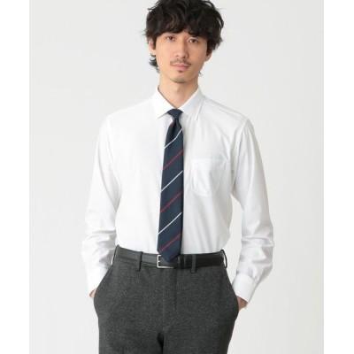 MACKINTOSH PHILOSOPHY(MENS)/マッキントッシュ フィロソフィー メンズ トリコットセミワイドシャツ ホワイト1 38