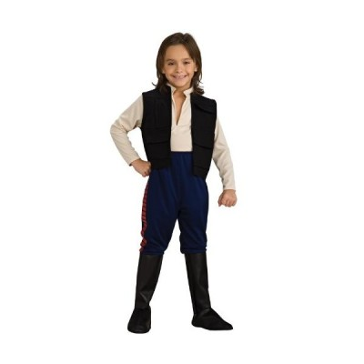Rubie's Star Wars Classic Child's Deluxe Han Solo Costume, Medium