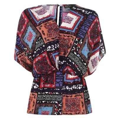 ビバ Biba レディース ブラウス・シャツ トップス Kimono Blouse Multi