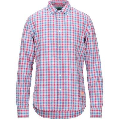 スコッチ&ソーダ SCOTCH & SODA メンズ シャツ トップス checked shirt Fuchsia