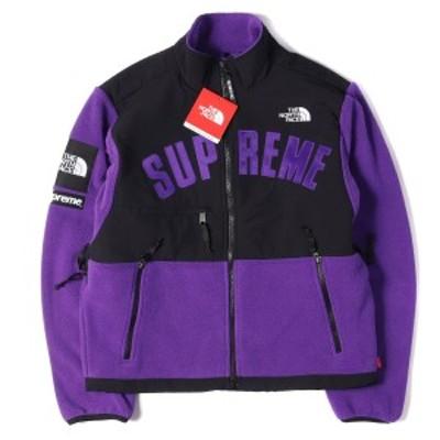 Supreme (シュプリーム) 19S/S ×THE NORTH FACE デナリフリースジャケット(Denali Fleece Jacket) チランジアパープル S 【K2322】