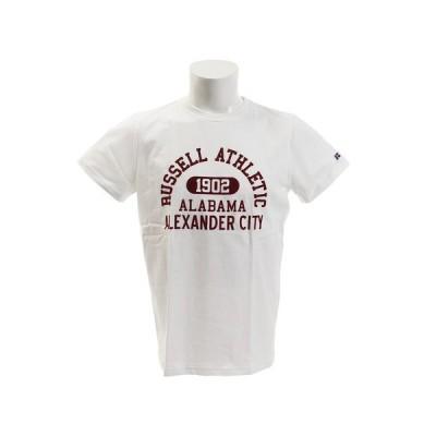 ラッセル(RUSSELL) BD COLLEGE 半袖Tシャツ RBM19S0024 WHT オンライン価格 (メンズ)