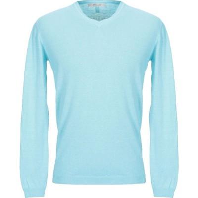 ウールアンドコー WOOL & CO メンズ ニット・セーター トップス sweater Sky blue