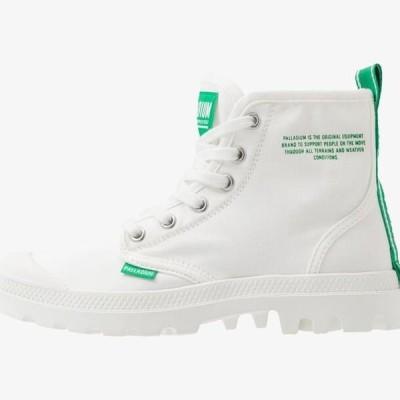 パラディウム メンズ 靴 シューズ PAMPA DARE SAFETY - Lace-up ankle boots - starwhite