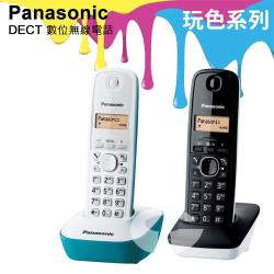 Panasonic 松下國際牌DECT數位無線電話 KX-TG1612 (藍白雙配色)