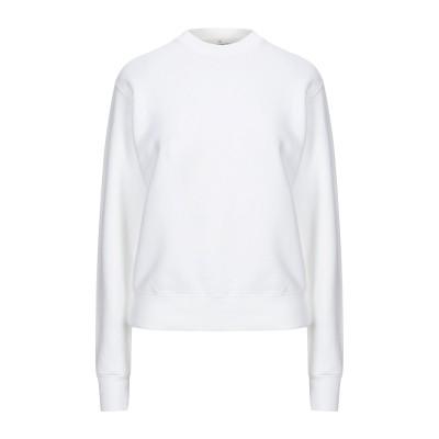 ゴールデン グース GOLDEN GOOSE DELUXE BRAND スウェットシャツ ホワイト L コットン 100% スウェットシャツ