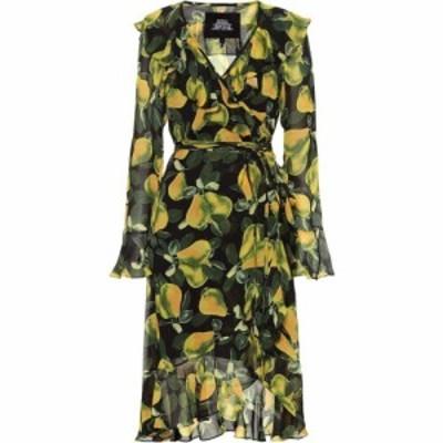 マーク ジェイコブス Marc Jacobs レディース ワンピース ワンピース・ドレス Printed crepe minidress green multi