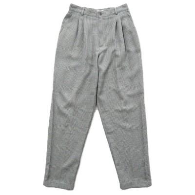 USA製 DRESSBARN スラックス パンツ ツータック チェック サイズ表記:14