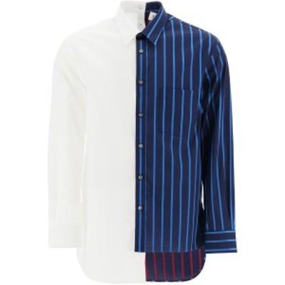 LANVIN/ランバン コットンシャツ BLUE WHITE Lanvin  メンズ 秋冬2020 RMSI0506S043H20 ik