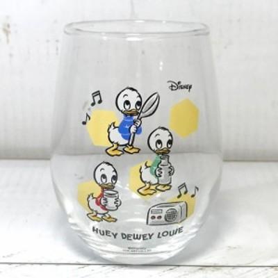 丸グラス ヒューイ・デューイ・ルーイ ディズニーグッズ ドナルド グラス タンブラー ガラスコップ