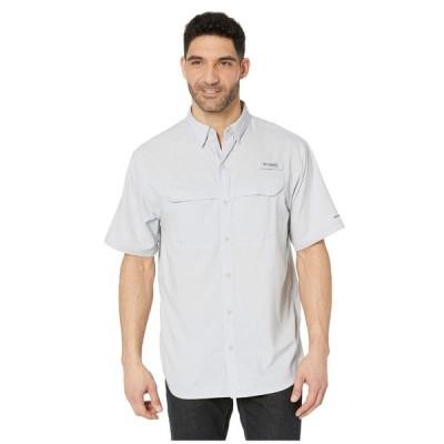 コロンビア Columbia メンズ 半袖シャツ トップス Low Drag Offshore(TM) S/S Shirt Cool Grey/White