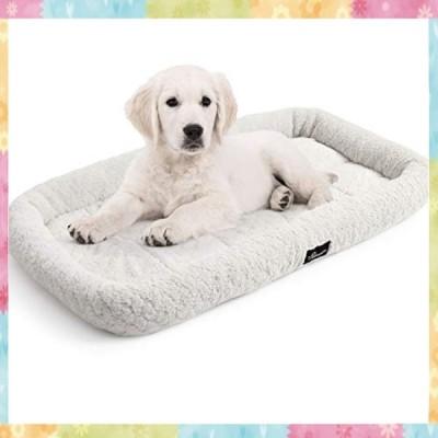 ペットベッド 中型犬猫用 マット洗えるソフト犬小屋パッド、犬の箱に最適、76cm L x 52cm W