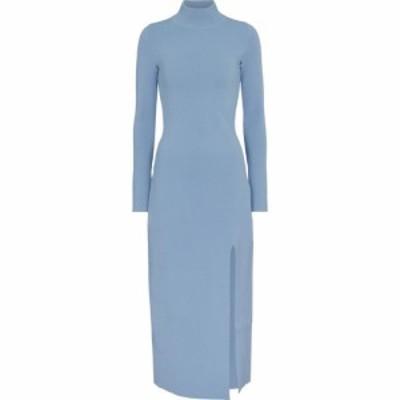 ナヌシュカ Nanushka レディース ワンピース タートルネック ワンピース・ドレス Elin turtleneck sweater dress Dusty Blue