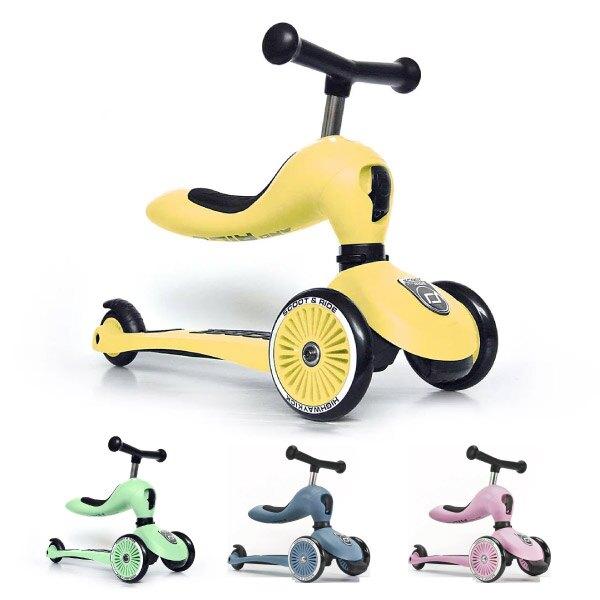 奧地利 Scoot & Ride Cool飛滑步車/滑板車(8色可選)