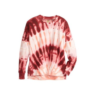 トゥルー クラフト レディース パーカー・スウェット アウター Soft Shop Tie Dye Sweatshirt