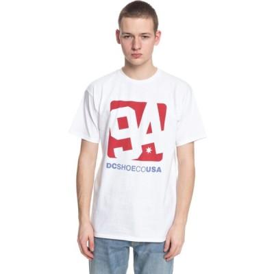 ディーシー メンズ Tシャツ トップス Arched T-Shirt White