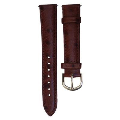 腕時計 タイメックス メンズ TX32718HN Timex 18mm Ostrich Grain Leather Band