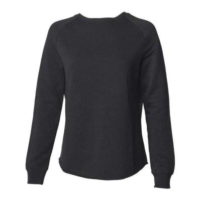レディース 衣類 トップス Women's California Wave Wash Crewneck Sweatshirt - Independent Trading Co. - Artix Tシャツ