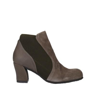 AUDLEY ショートブーツ 鉛色 40 革 / 紡績繊維 ショートブーツ