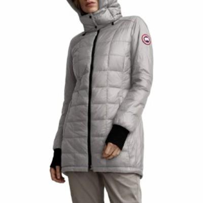 カナダグース CANADA GOOSE レディース ダウン・中綿ジャケット アウター Ellison Packable Down Jacket Light Grey
