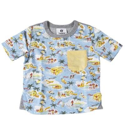 HIGHKING ハイキング Tシャツ SAXBLUE 11711006