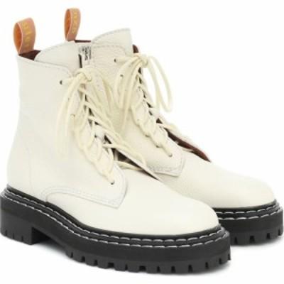 プロエンザ スクーラー Proenza Schouler レディース ブーツ ショートブーツ レースアップブーツ シューズ・靴 leather lace-up ankle bo