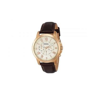 Fossil フォッシル メンズ 男性用 腕時計 ウォッチ ファッション時計 Grant - FS4991IE - Brown