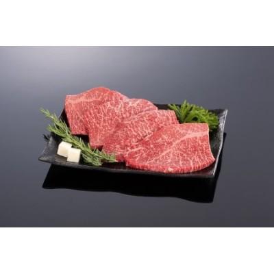和歌山県産黒毛和牛「熊野牛」特選モモステーキ400g(約100g×4枚)4等級以上