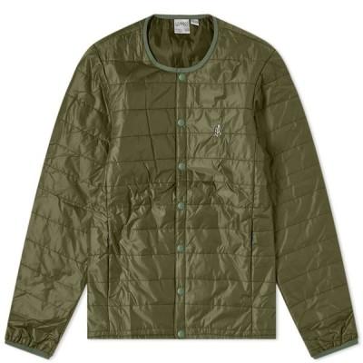 グラミチ Gramicci メンズ ジャケット アウター padding jacket Olive