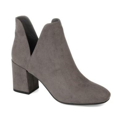 ジャーニーコレクション ブーツ&レインブーツ シューズ レディース Women's Gwenn Booties Gray