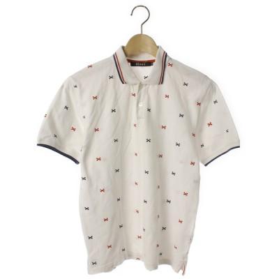 ZOZOUSED / 総柄半袖ポロシャツ MEN トップス > ポロシャツ