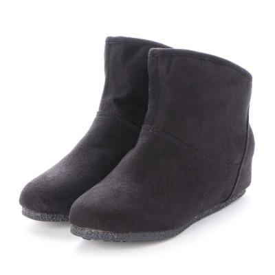 シューズラウンジ shoes lounge ショートブーツ 706914BLS (ブラック)