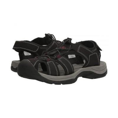 Northside ノースサイド メンズ 男性用 シューズ 靴 サンダル フラット Trinidad Sport - Black