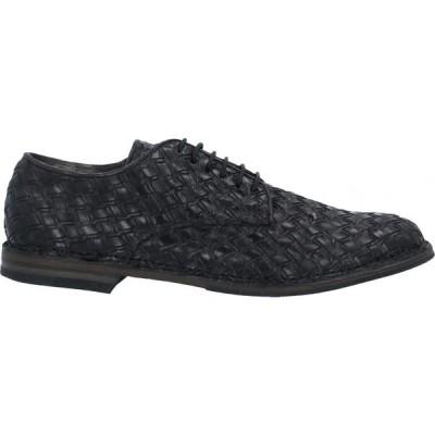 パンタネッティ PANTANETTI メンズ シューズ・靴 laced shoes Black