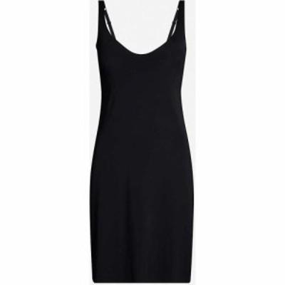 ウォルフォード WOLFORD レディース パジャマ・トップのみ インナー・下着 Pure stretch-woven dress BLACK