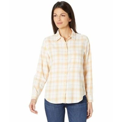 ラッキーブランド シャツ トップス レディース Relaxed Shirt Yellow Multi