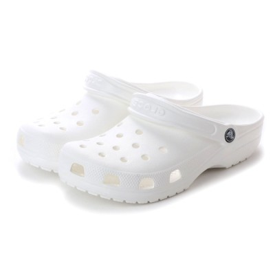 クロックス crocs 10001 CLASSIC CLOG クラシック クロッグ サンダル (ホワイト)