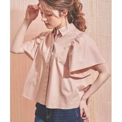 Noela / バックレースシャツ WOMEN トップス > シャツ/ブラウス
