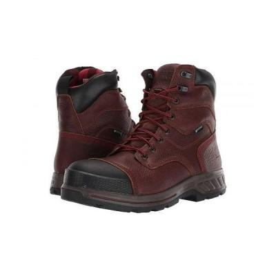 "Timberland PRO ティンバーランド メンズ 男性用 シューズ 靴 ブーツ ワークブーツ 8"" Endurance HD Composite Safety Toe Waterproof Insulated - Brown"