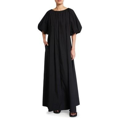 コー レディース ワンピース トップス Short-Sleeve Bubble Maxi Dress