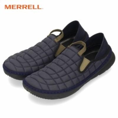 MERRELL メレル メンズ スニーカー J5001071 ハットモック ネイビー スリッポン 軽量 靴