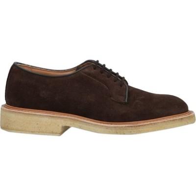 トリッカーズ TRICKER'S メンズ シューズ・靴 laced shoes Dark brown