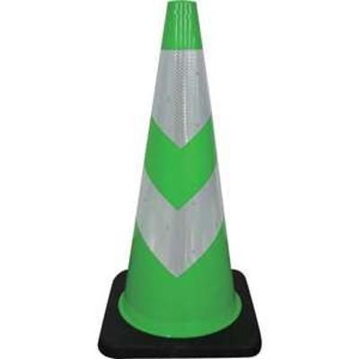 【メーカー直送品】グリーンクロス ストロングコーン 緑/白(品番:1105300501)『7881363』